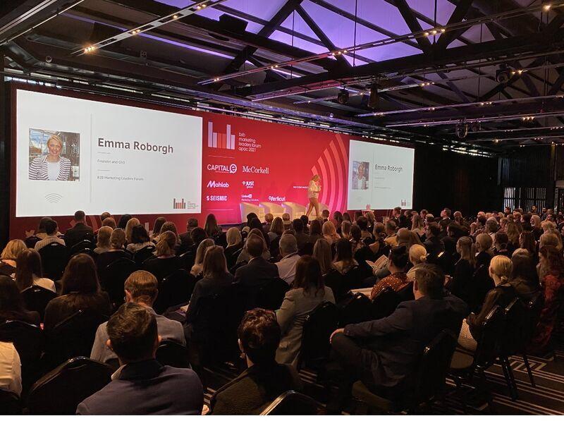 B2B Marketing Leaders Forum Sydney Highlights